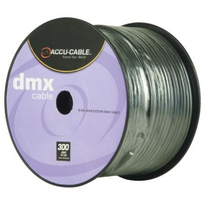 AC5CDMX300 - 300ft Spool, 5 Conductor DMX Accu Cable