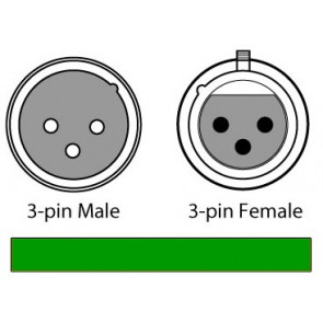 Chauvet 3 Pin 10' DMX Cable