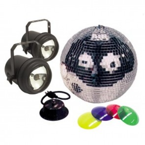 "12"" mirror ball package"